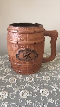 Brown ceramic beer stein Arlington, 22203