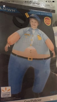 Blow up police Costume. King, L0G 1T0