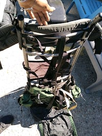 black and gray camouflage stroller Hampton, 23661