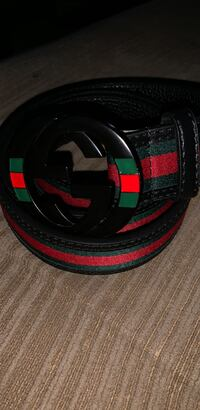 black and green Gucci belt Derry, 03038