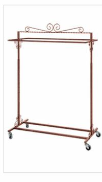 2 way boutique style clothing rack