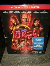 Bad Times at the El Royale (blu-ray&DVD) Gaithersburg, 20879