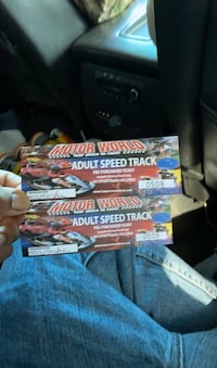 2 tickets for mortor world  Chesapeake, 23321