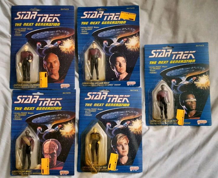1988 original Star Trek TNG Galoob action figures c3349960-7cbe-40c7-9dd6-77e2f5053dd7
