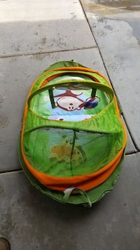 toddler's green bather