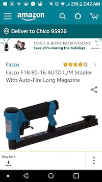 black and blue Makita power tool screenshot Chico, 95926