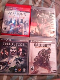 four assorted PS3 game cases Pharr, 78577