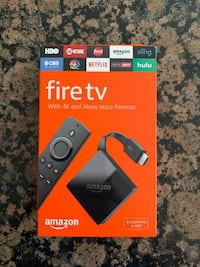 Amazon FireTV 4K (New) Ashburn, 20148