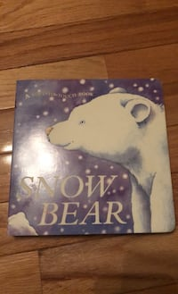 Snow Bear Soft-to-Touch Book