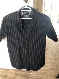 Men's Rip Zone Al Capone pin stripped casual dress shirt  Oshawa, L1K 0G7