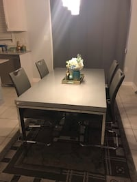 Grey Dining table and chair Brampton, L6V