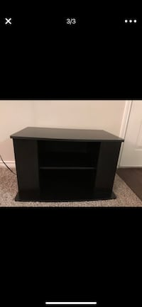 black wooden TV stand screenshot Irving, 75062