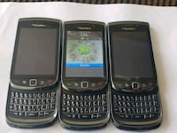 3 Blackberry Torch, 16gb, unlocked, 2 WITHOUT batteries, $50 FOR ALL 3 Toronto, M9V 5G9