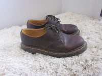 Dr. Martens Oil Treated Classic Brown Low Cut Shoes - Size 5 Men's, Size 7 Ladies Winnipeg