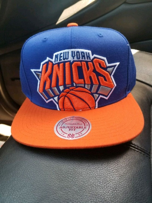 025bdcbb429f3 Used New York Knicks Mitchell and Ness snapback hat. for sale in Huntington  - letgo