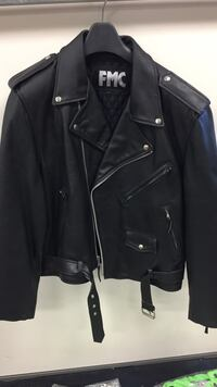 Leather motorcycle jacket size have multiple sizes