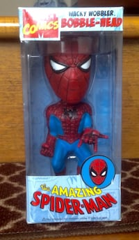 Spider-Man Bobblehead  new in box $15.00. Toronto, M1T 2E8