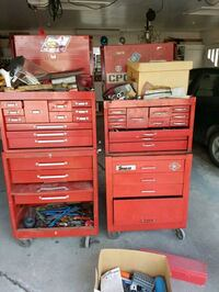 Snap on & Beach tool boxes with tools  Calgary, T2J