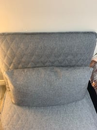 Brand new deep grey relaxing chair with cushion. condition 10/10 Vaughan, L4J 6G2
