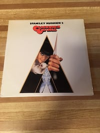 Record Album Vinyl LP Soundtrack Clockwork Orange