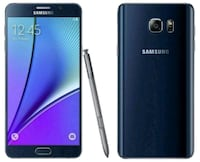 Samsung Galaxy Note 5 - factory unlocked with box  Springfield, 22153