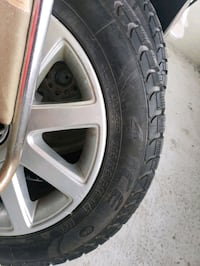 4 set of new winter tyres and rims for Volkswagen.   Toronto, M3N 2H7
