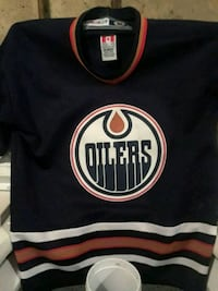 Oilers youth Jersey