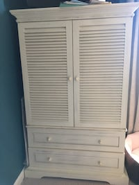 Shabby Chic Pier 1 Armoire