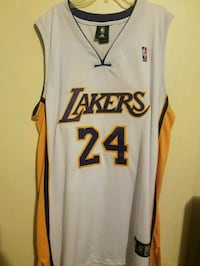 Adidas Kobe Bryant Los Angeles Lakers jersey