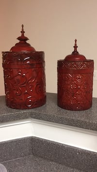 Decorative Canisters 8 km
