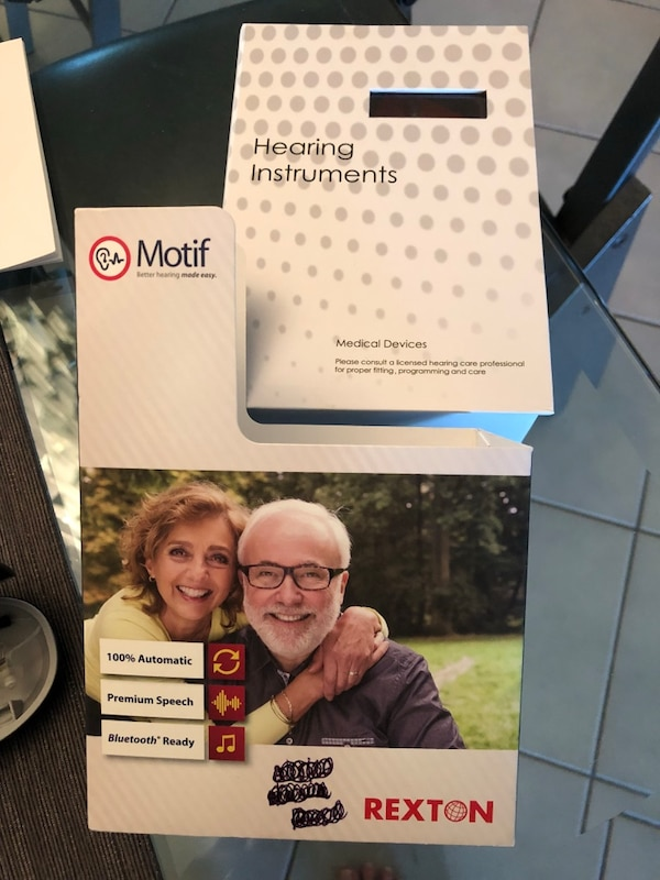 Madison : Rexton motif hearing aids