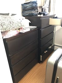 3 piece bedroom cabinets  2 tall pieces and 1 night stand Syosset, 11791