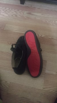 Christian Louboutin high top spikes red bottoms Columbus, 31903