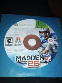 Madden 25 for Xbox 360