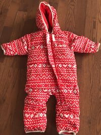Columbia winter snowsuit, down filled, size 6-12 month  Vaughan
