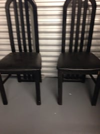 two black wooden side tables Tampa, 33634