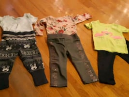Bundle of Baby clothes 6-12 months