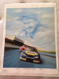 Dale Earnhardt Commemorative Print