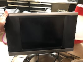LCD TV - small with remote.