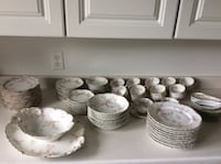 white ceramic plates and bowls Rochester, 14626