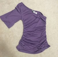 women's purple one shoulder Guess shirt Mississauga