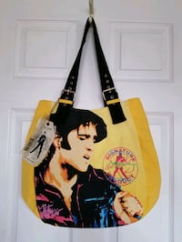 Elvis Presley Signature Product Canvas Bag Toronto, M6P 3V4