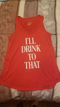 """""""I'll drink to that"""" tank top Livonia, 48128"""