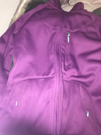 purple zip-up jacket Peterborough, K9J 1N8