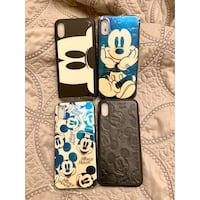 Brand New iPhone X/Xs Mickey Mouse Cases ($10 each) 562 km