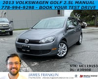 2013 Volkswagen Golf 2.5L