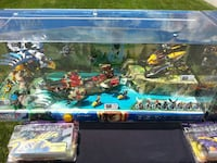 Very Rare Lego Chima Display in case  never used or played with.