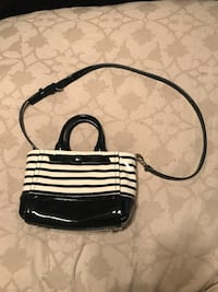 Kate spade beige and black leather 2-way handbag Kyle, 78640