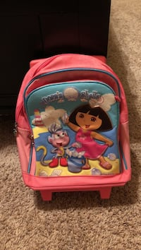 Red dora's shells backpack