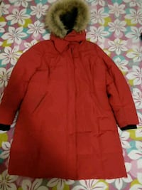 red zip-up snow jacket Toronto, M1L 4P2